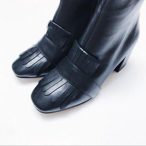 Steven By Steve Madden Shoes - Steven by Steve Madden - Black Leather Boots